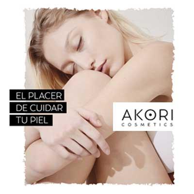 En Jatier distribuimos los productos de Akori Cosmetics: ciencia cosmética con alma botánica