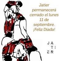 Horario de atención al público en Jatier: Diada 2017
